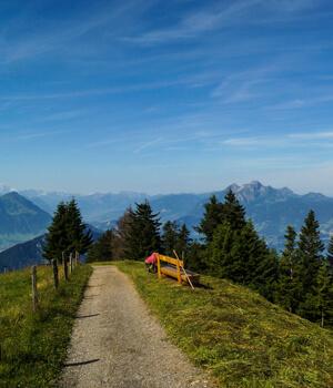 Wanderurlaub für die Gesundheit in der Zentralschweiz