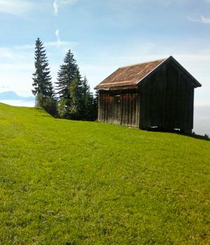 Ferienhütte im Allgäu