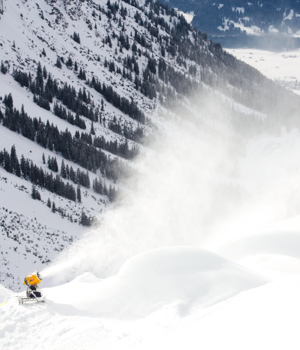 Skigebiet in Oberstdorf