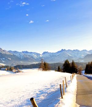 Winterparadies in Oberstdorf