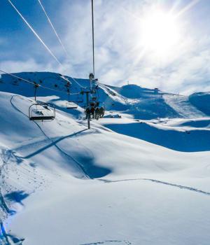 Skigebiet im Berchtesgadener Land