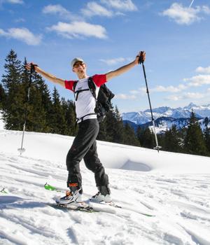 Ferienspaß im Skiurlaub in Balderschwang