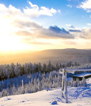 Natur genießen im Skiurlaub in Braunlage