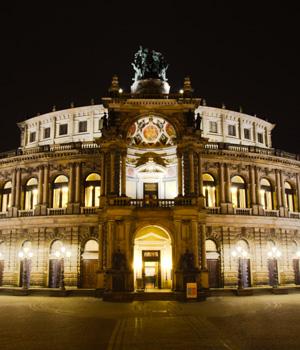 Schöne Augenblicke in Dresden