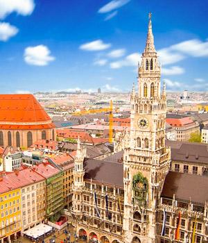 Schöne Augenblicke in München