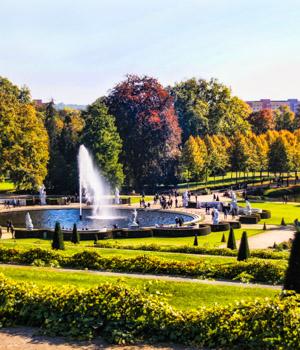 Stadtpark in Potsdam