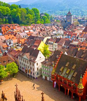 Schöne Augenblicke in Freiburg