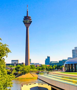 Stadtzentrum in Düsseldorf