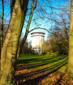 Erholung in der Stadt Aachen