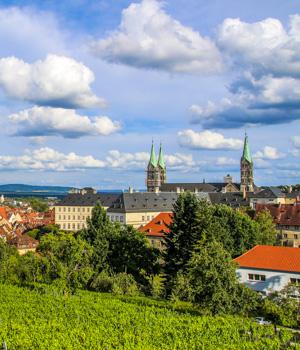 Natur genießen während der Städtereise in Bamberg