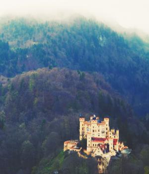 Wanderurlaub in den Wäldern in Bayern