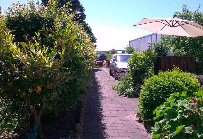 Ferienwohnung am Fehmarnsund mit Gartenterrasse