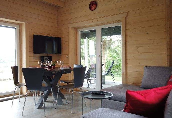 WellnessFerienhaus mit Pool, Sauna, Whirlpool mitten in Deutschland