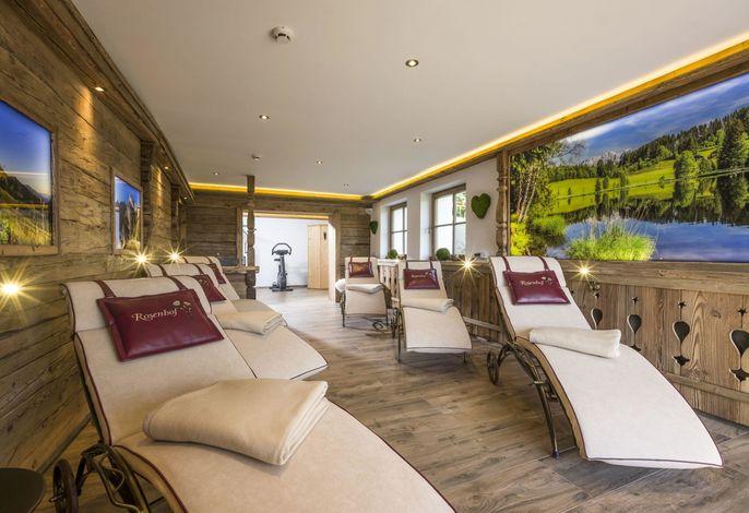 Chalet / Apartment mit Gartenblick im Gartenhotel Rosenhof bei Kitzbühel