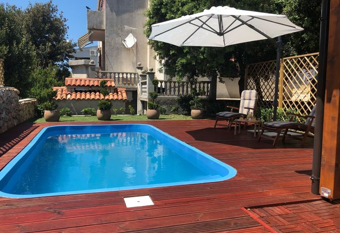 Bungalow with Pool in Mandre