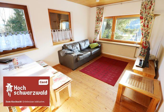 Fewo Auerhahn 02 - Haus Wintersonne - Feldberg / Falkau