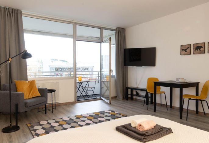 Helles modernes Apartment Neuss Düsseldorf