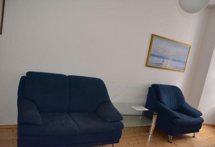 Apartment, 2 Schlafzimmer, straßenseitig