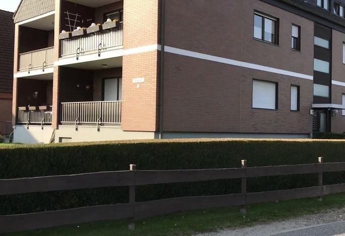 Brookgang 22 - Whg. 5 - gepflegte Wohnung mit WLAN und Strandkorb
