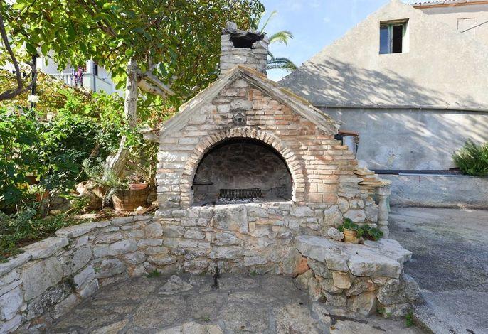 kroatisches Steinhaus