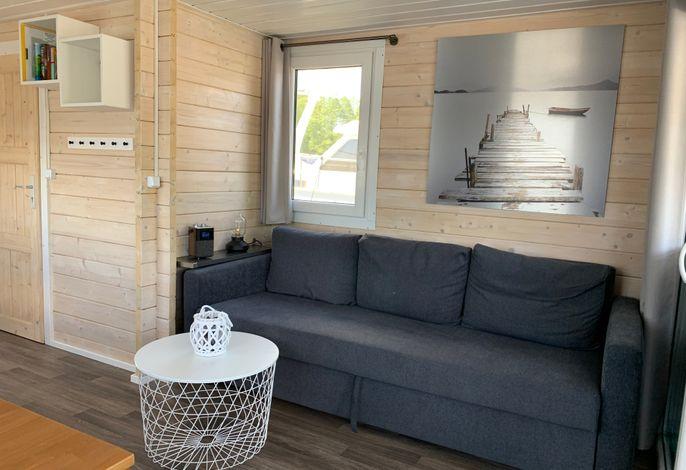 Schwimmendes Ferienhaus Aenne mit kostenlosem Beiboot
