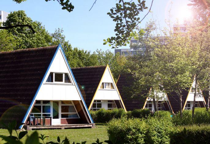 Nurdachhaus im Dampland an der Ostsee