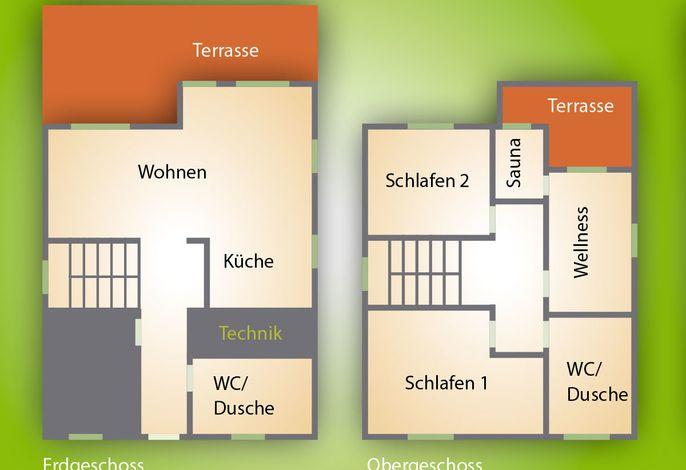 Ferienhaus 9 Birke