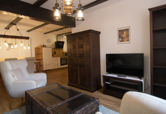 Apartment (No12) mit zwei Schlafzimmern und Wohnküche