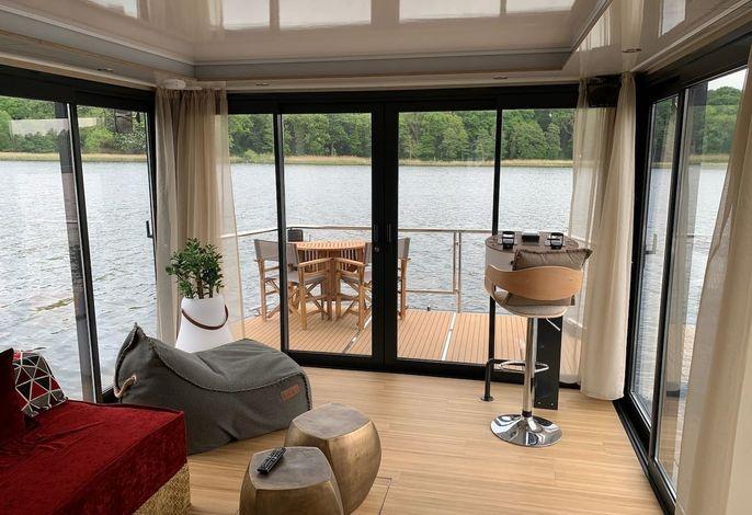 Festliegendes Hausboot Water Lodge
