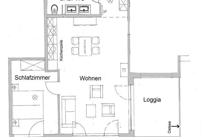 Apartmenthaus Hafenspitze  Ap. 16