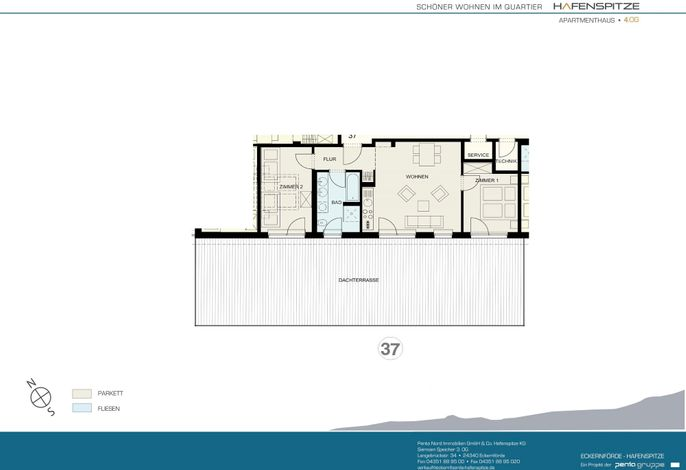 Apartmenthaus Hafenspitze  Ap. 37