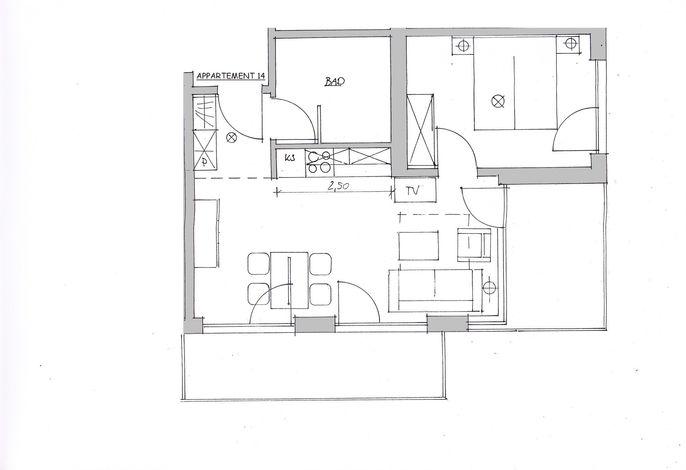 Apartmenthaus Hafenspitze  Ap. 14