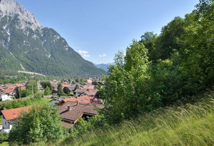 Malerblick - Mittenwald / Alpenwelt Karwendel