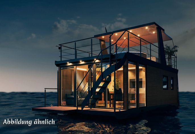 Schwimmendes Ferienhaus