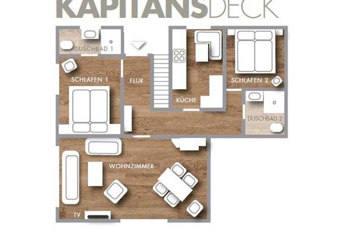 Seepark - Kapitäns Deck