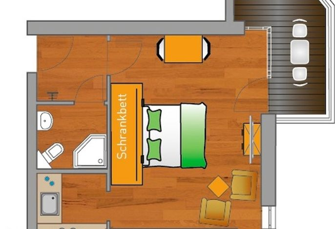 ancora Marina Haus 2 Nr. 8, Typ 1