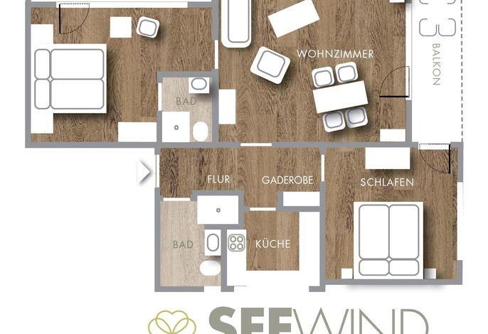 Haus am Kurpark - Seewind