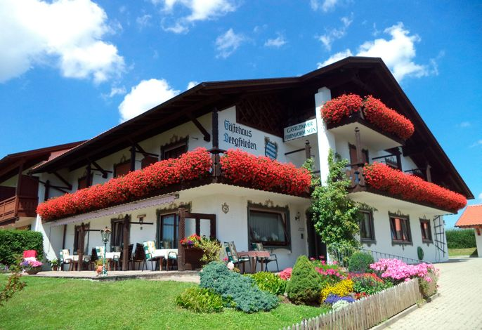 Ferienwohnung Panorama im Gästehaus Bergfrieden - Bad Bayersoien / Ammergauer Alpen