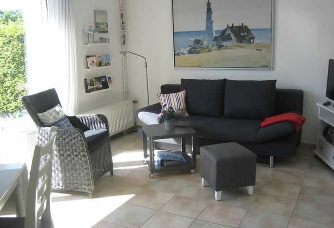 Ferienwohnung Werner - preiswerte, moderne Wohnung mit Sonnenterrasse, nur 8 Minuten Fußweg zum Strand