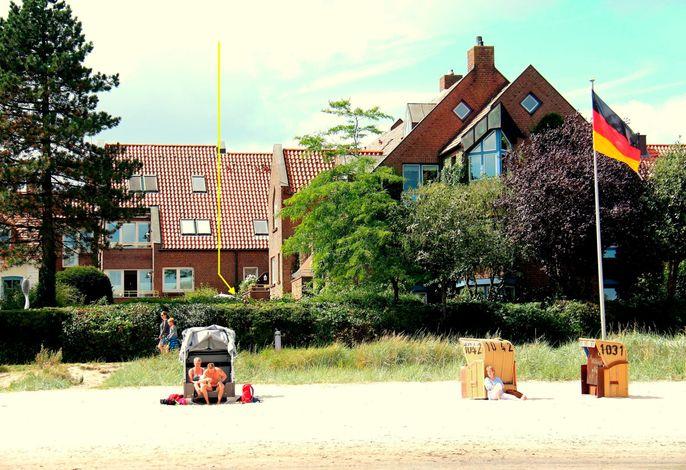 Sonnengruss am Strand