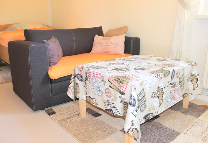 Ferienwohnung Hannelore - preiswertes Miniappartement in zentraler Lage