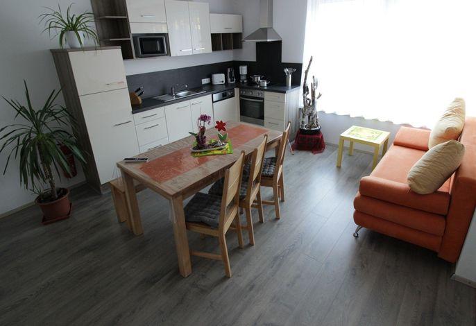 Komfortappartement 5 mit 2 Schlafzimmern und Terrasse