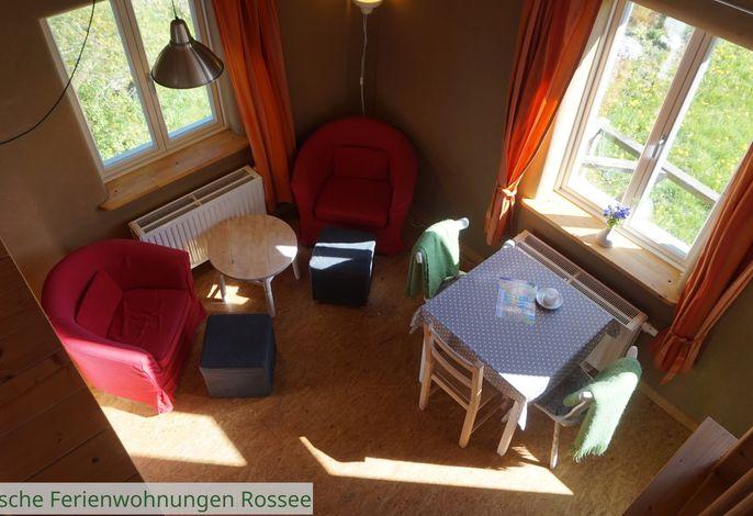 ökologische Ferienwohnung Rossee /Wohnung Ost