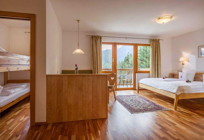 Ferienwohnung Österreich im Gartenhotel Rosenhof bei Kitzbühel