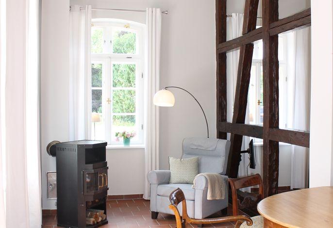 Romantische Torhausferienwohnung mit Top-Einrichtung auf dem idyllischen