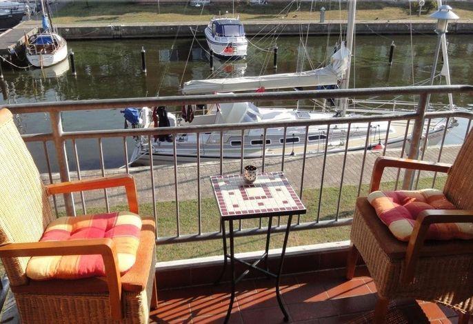 Ferienwohnung Hafenblick Ueckermünde, Stettiner Haff, Ostsee