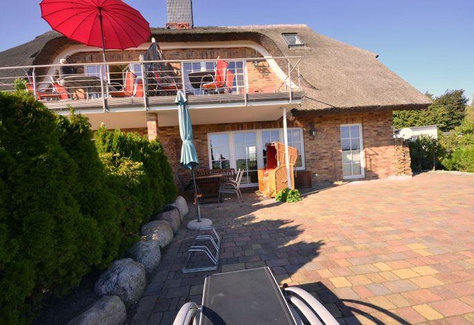 Reet - Meerblick - Terrassenwohnung Sonnenkliff EG