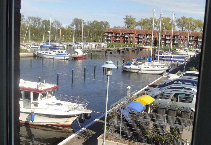 FEWO bis 4 Pers. inmitten den Yachthafens Ueckermünde, Stettiner Haff, Ostsee