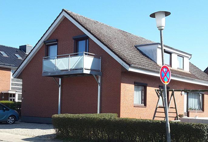 Haus Hopp - Wohnung Nixe mit Meerblick