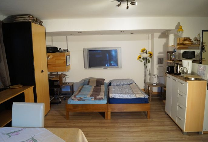 '4er  Müggelwaldzimmer' - ruhiges + gemütliches & modern- rustikales  Apartment mit Gartenplatz
